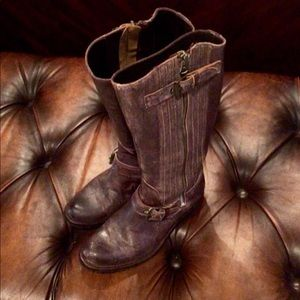 Sendra Tall Distressed Motorcycle Boot 9